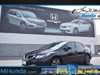 Grab a score on this 2013 Honda Civic Sdn EX before