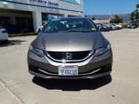 Options:  2013 Honda Civic Sdn Ex Graphite Here's The