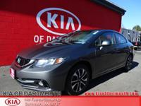 2013 Honda Civic EX-L FWD Gray Blue Tooth, USB Port,