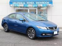 This Honda Certified Civic Sdn 4dr Auto EX-L  is a New