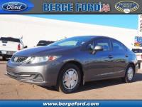 This Silver 2013 Honda Civic HF might be just the 4 dr