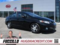New Price! LOCAL TRADE IN, Civic Hybrid, 4D Sedan.