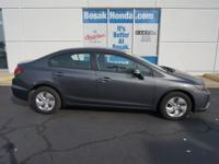 Then take a look at this fuel-efficient 2013 Honda