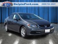 2013 Honda CIVIC LX 4DR SEDAN LX Our Location is:
