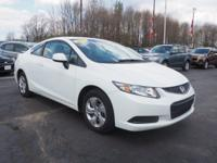 This 2013 Honda Civic LX is a real winner with features