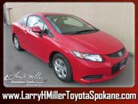 Only 40,501 Miles! Delivers 39 Highway MPG and 28 City