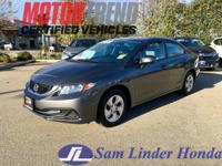 Options:  2013 Honda Civic Lx|Advertised Price Expires