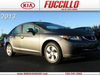 This 2013 Honda Civic Sdn 4dr Auto LX is offered to you