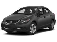 Options:  2013 Honda Civic Lx|*** When It Comes To