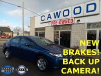 Options:  2013 Honda Civic Lx|Blue|New Brakes|New