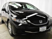 This outstanding example of a 2013 Honda Civic Sdn LX