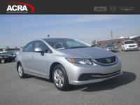 Used 2013 Civic Sedan, 25,055 miles, options include:
