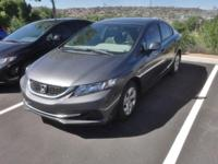 2013 Honda Civic LX Polished Metal FWD Compact 5-Speed