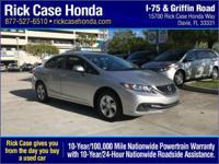 This good-looking 2013 Honda Civic is the gas-saving