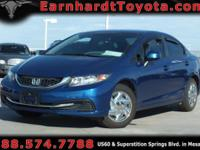 We are happy to offer you this 2013 Honda Civic LX