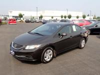You'll love the look and feel of this 2013 Honda Civic