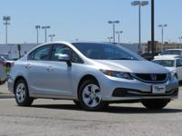 CARFAX One-Owner. Clean CARFAX. Silver 2013 Honda Civic