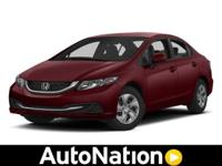2013 Honda Civic Sdn Our Location is: AutoNation Honda