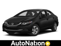 2013 Honda Civic Sdn Our Location is: AutoNation Toyota