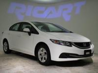 Civic LX, 1.8L I4 SOHC 16V i-VTEC, Compact 5-Speed