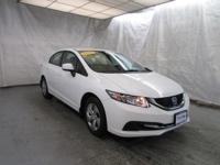 2013 Honda Civic Sdn Sedan LX Our Location is: Lujack