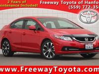CARFAX One-Owner. Clean CARFAX. Rallye Red 2013 Honda