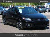 Clean Civic with a clean Carfax. This coupe is priced