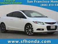 San Francisco Honda means business! Car buying made