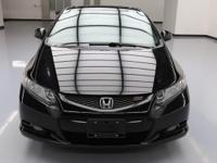 2013 Honda Civic with 2.4L I4 Engine,6-Speed Manual