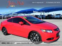 CarFax 1-Owner, This 2013 Honda Civic Si will sell fast