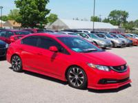 Recent Arrival! Rallye Red 2013 Honda Civic Si FWD