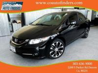 2013 Black Honda Civic SI For Sale in Denver/Aurora.