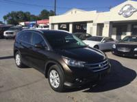 2013 HONDA CR-V EX-L ALL WHEEL DRIVE, AND ONLY 93K