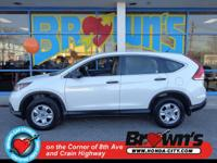 CarFax One Owner! This CR-V is Certified! This 2013