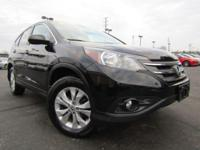 New Price! CARFAX One-Owner. Non-Smoker, CR-V EX, 4D