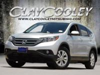 2013 Honda CR-V White Diamond Pearl 5-Speed Automatic