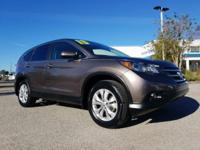 CARFAX One-Owner. Blue 2013 Honda CR-V EX FWD 5-Speed