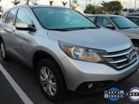 ONE-OWNER, CLEAN CARFAX, and HONDA CERTIFIED. CR-V EX