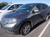 Recent Arrival! 2013 Honda CR-V EXCARFAX One-Owner.