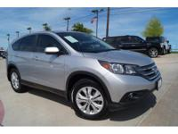 Climb inside the 2013 Honda CR-V! Comprehensive style