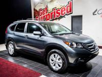 Scores 31 Highway MPG and 23 City MPG! This Honda CR-V