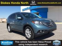 Low miles for a 2013! Back-up Camera, This 2013 Honda