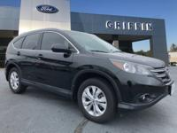 Crystal Black Pearl 2013 Honda CR-V EX-L FWD 5-Speed
