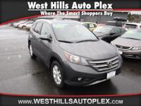 Certified Vehicle! This 2013 Honda Cr-V EX-L will sell
