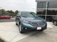Mountain Air Metallic 2013 Honda CR-V EX-L AWD 5-Speed