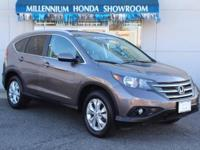 This Honda Certified CR-V AWD 5dr EX-L  is a New