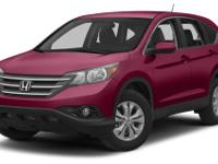 For a smoother ride, opt for this 2013 Honda CR-V EX-L