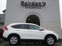 AWD. 2013 Honda CR-V EX-L AWD 4x4 Super Low Miles 30/22