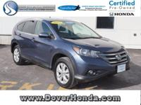 Carfax 1 Owner! Accident Free! 2013 Honda  CR-V EX-L,