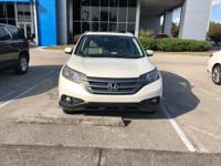 Recent Arrival! This 2013 Honda CR-V EX-L in White